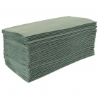 DL923 Z Fold Green Hand Towels