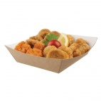 Disposable Kraft Tray Large