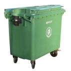 U668 Roll Top Lid Wheelie Bin