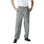 A026-XL Easyfit Pants - Small Black Check