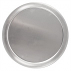 "F008 Tempered Pizza Pan - 0.3"" Deep"