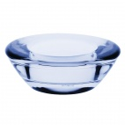 Saucer Tealight Holder Blue - 75 x 75mm