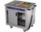 BM20MS Mobile Hot Cupboard - Bain Marie Top