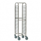 P072 Gastronorm Racking Trolley