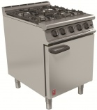 Dominator Plus G3161/N Natural Gas Four Burner Open Top Range