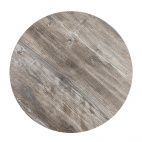 Round Table Top Vintage Pine 600mm