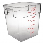 CF025 Polycarbonate Square Storage Container