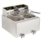 GH125 2 x 8 Ltr Double Fryer