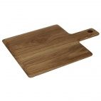 Oak Handled Wooden Board Small