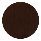 CG707 Round Table Top Walnut 800mm