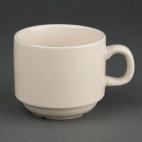 U106 Ivory Stacking Tea Cup