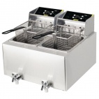 GH127 2 x 8 Ltr Double Fryer