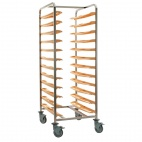 CC380 Self Clearing Cafeteria Trolley