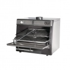 90 (50) LUX Stainless Steel Charcoal Oven