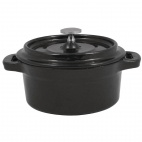 Y259 Cast Iron Round Mini Pot