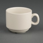 U102 Ivory Stacking Espresso Cup
