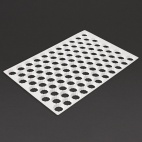 Serrated Cutting Sheet Round 90 Holes 35mm - GT025