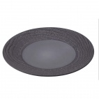 Arborescence Round Plate Grey 265mm