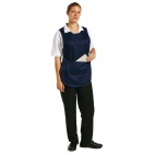 B044-1 Tabard with Pocket - Navy Blue