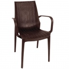 PP Rattan Bistro Armchair (Pack of 4)