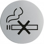 U052 No Smoking Door Sign