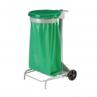 CE012 Collecroule Green Mobile Sack Trolley