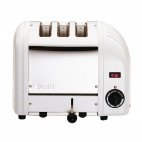3 Slice Vario Toaster White