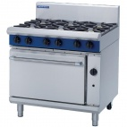 Evolution G506D-N 6 Burner Natural Gas Oven Range