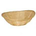 Wicker Bread & Fruit Bowls