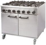 6 Burner Gas Ovens