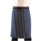 A927 Butchers Apron - Navy Stripe