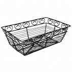 Black Wire Basket 230x150x75mm
