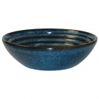 DL421 Churchill Bit on the Side Blue Ripple Dip Dishes 113mm