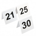 L983 Plastic Table Number Set