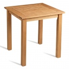 Wooden Table 800mm Square